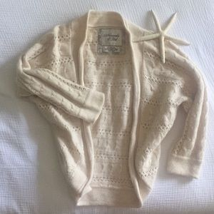 A+F Wool & Cashmere Shrug